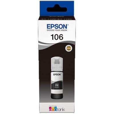 Für weitere Info hier klicken. Artikel: Epson EcoTank photo schwarz T 106 70 ml T 00R1