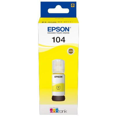 Für weitere Info hier klicken. Artikel: Epson EcoTank T 104 Gelb 65 ml