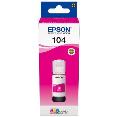 Für weitere Info hier klicken. Artikel: Epson EcoTank T 104 Magenta 65 ml