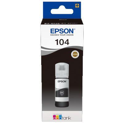 Für weitere Info hier klicken. Artikel: Epson EcoTank T 104 Schwarz 65 ml