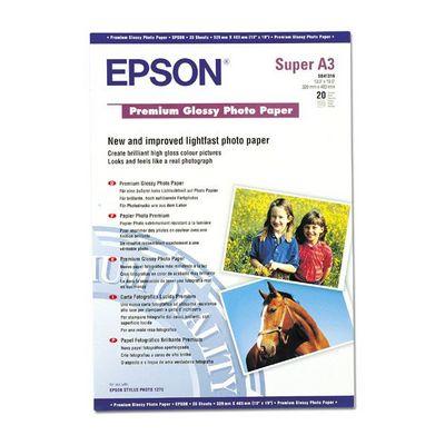 Für weitere Info hier klicken. Artikel: Epson Papier Premium A3+ 20Bl S041316