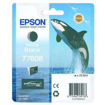 Für weitere Info hier klicken. Artikel: Epson T7608 mattschwarz