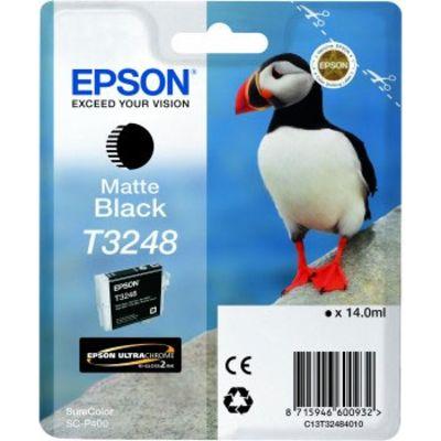 Für weitere Info hier klicken. Artikel: Epson T3248 Matt Schwarz Tintenpatrone