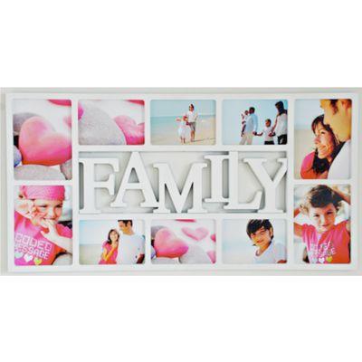 Für weitere Info hier klicken. Artikel: Euratio Family 10fach für 6 Fotos 10x15cm und 4 Fotos 13x18cm, zum Hängen weiss
