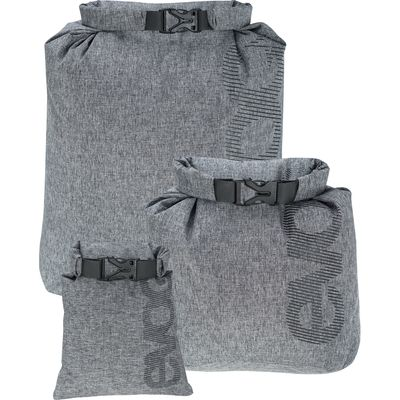 Für weitere Info hier klicken. Artikel: EVOC Zubehörtasche SAFE POUCH SET WATERPROOF 1L+6L+9L black-heather grey