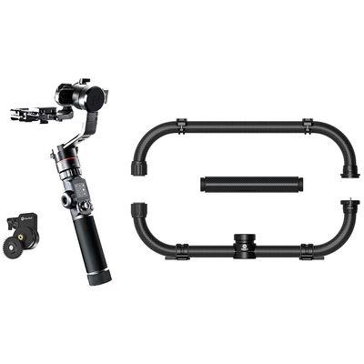 Für weitere Info hier klicken. Artikel: FeiyuTech AK4000 Cage Set inkl. Follow Focus II, Gimbal+Doppelgriff+Focusrad