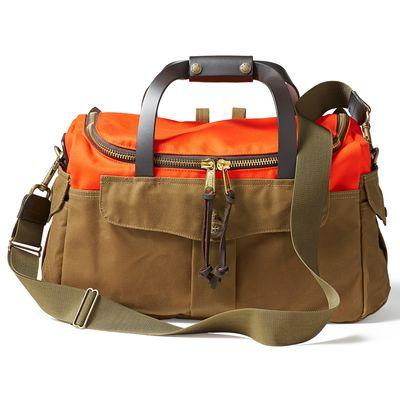 Für weitere Info hier klicken. Artikel: Filson Heritage Sportsman Bag Orange / Dark Tan