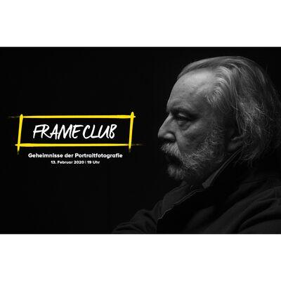 Für weitere Info hier klicken. Artikel: FRAME CLUB im Livestream - Die Geheimnisse der Portraitfotografie - mit Martin Dürr 13.02.20