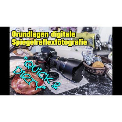 Für weitere Info hier klicken. Artikel: Grundlagen Digitale Spiegelreflexfotografie - quick & dirty 11.05.18
