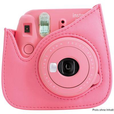 Für weitere Info hier klicken. Artikel: Fujifilm Instax Mini 9 Tasche aus strapazierfähigem Kunstleder flamingopink