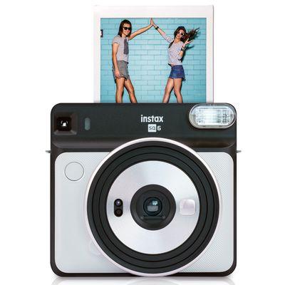Für weitere Info hier klicken. Artikel: Fujifilm Sofortbildkamera Instax SQUARE SQ6 pearl white
