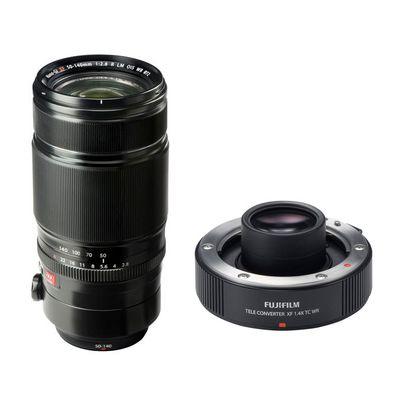 Für weitere Info hier klicken. Artikel: Fujifilm XF 2,8/50-140 R LM OIS WR + TC XF1.4X Tele-Konverter Fujifilm X