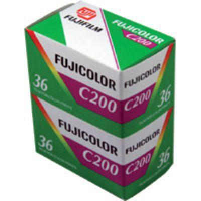Für weitere Info hier klicken. Artikel: Fujifilm C200 200 135/36 2er-Pack