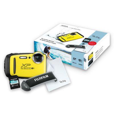Für weitere Info hier klicken. Artikel: Fujifilm FinePix XP130 Yellow Special Edition SD Karte/Float Strap/Rein.Tuch