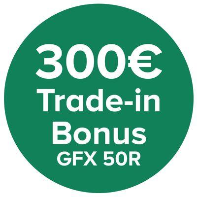 Für weitere Info hier klicken. Artikel: Fujifilm GFX 50R 300 Euro Trade- in Bonus