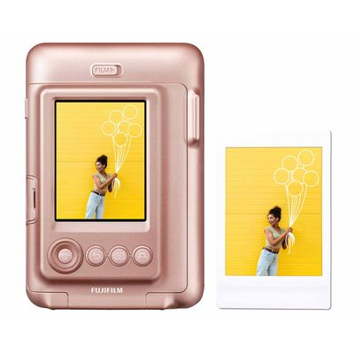 Für weitere Info hier klicken. Artikel: Fujifilm Instax LiPlay Sofortbildkamera blush gold