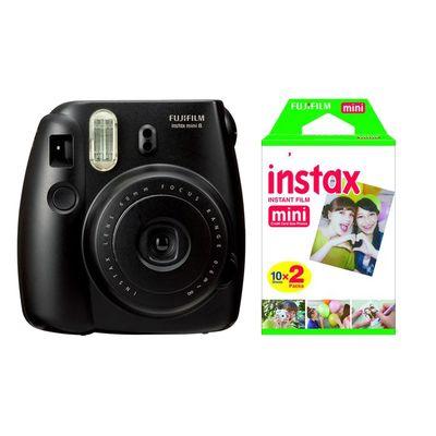 Für weitere Info hier klicken. Artikel: Fujifilm Instax Mini 8 Set inkl. Film DP 2x10 Aufnahmen schwarz