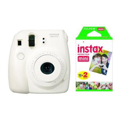 Für weitere Info hier klicken. Artikel: Fujifilm Instax Mini 8 Set inkl. Film DP 2x10 Aufnahmen weiß