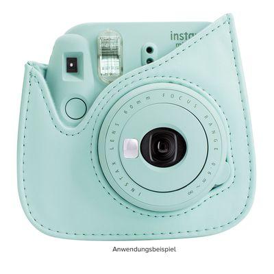 Für weitere Info hier klicken. Artikel: Fujifilm Instax Mini 9 Tasche aus strapazierfähigem Kunstleder eisblau