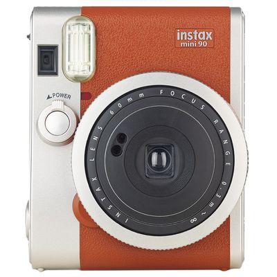 Für weitere Info hier klicken. Artikel: Fujifilm Instax Mini 90 Set Retro Kamera Set incl. Tasche und Film braun