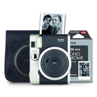 Für weitere Info hier klicken. Artikel: Fujifilm Instax Mini 90 Set Retro Kamera schwarz