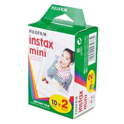 Für weitere Info hier klicken. Artikel: Fujifilm Instax Mini Film DP 2x10 Aufnahmen (Doppelpack)