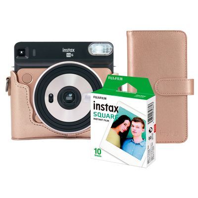 Für weitere Info hier klicken. Artikel: Fujifilm Instax SQ6 Messeset Blush Gold