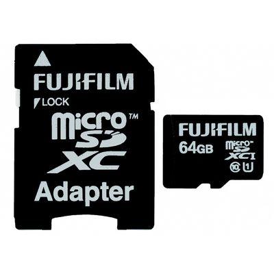 Für weitere Info hier klicken. Artikel: Fujifilm Micro SDXC-Card C10 UHS-I + Ada. 64 GB