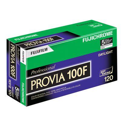 Für weitere Info hier klicken. Artikel: Fujifilm Provia 100 F Rollfilm 120 5er Pack