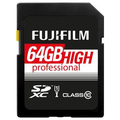 Für weitere Info hier klicken. Artikel: Fujifilm SDXC-Card High Pro C10 UHS-I 64 GB