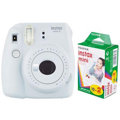 Für weitere Info hier klicken. Artikel: Fujifilm Sofortbildkamera Instax mini 9 + Instax Mini Film DP 2x10 Aufnahmen rauchweiß