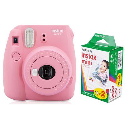 Für weitere Info hier klicken. Artikel: Fujifilm Sofortbildkamera Instax mini 9 + Instax Mini Film DP 2x10 Aufnahmen Blush Rose