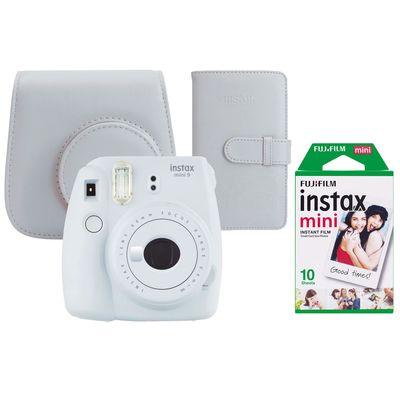 Für weitere Info hier klicken. Artikel: Fujifilm Sofortbildkamera Instax mini 9 Set rauchweiß