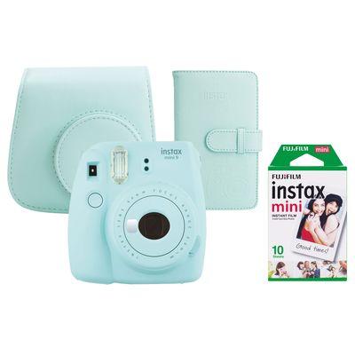 Für weitere Info hier klicken. Artikel: Fujifilm Sofortbildkamera Instax mini 9 Set eisblau