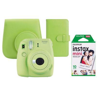 Für weitere Info hier klicken. Artikel: Fujifilm Sofortbildkamera Instax mini 9 Set limettengrün