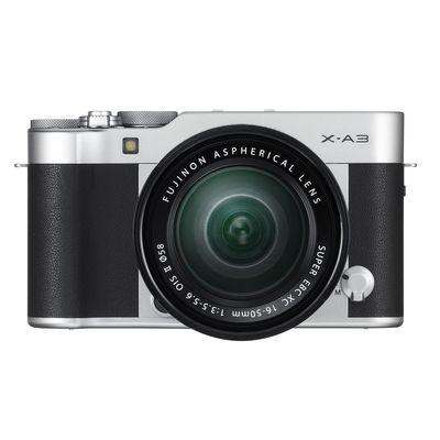 Für weitere Info hier klicken. Artikel: Fujifilm X-A3, XC 16-50 - Retourenware - silber-schwarz