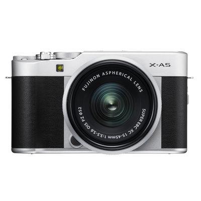 Für weitere Info hier klicken. Artikel: Fujifilm X-A5, XC 15-45 OIS PZ silber