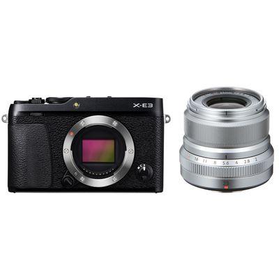 Für weitere Info hier klicken. Artikel: Fujifilm X-E3 + XF 2,0/23 mm WR Fujifilm X schwarz-silber