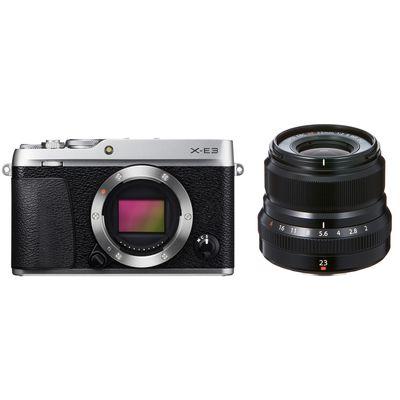 Für weitere Info hier klicken. Artikel: Fujifilm X-E3 + XF 2,0/23 mm WR Fujifilm X silber-schwarz