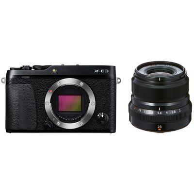 Für weitere Info hier klicken. Artikel: Fujifilm X-E3 + XF 23 mm f/2,0 WR Fujifilm X schwarz