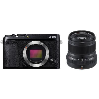Für weitere Info hier klicken. Artikel: Fujifilm X-E3 + XF 2,0/50 R WR Fujifilm X schwarz