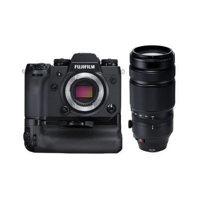 Für weitere Info hier klicken. Artikel: Fujifilm X-H1 + XF 100-400mm + VPB-XH1 Batteriegriff Fujifilm X
