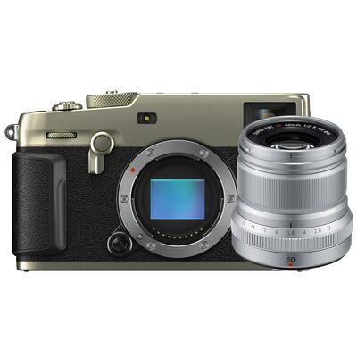 Für weitere Info hier klicken. Artikel: Fujifilm X-Pro3 + XF 50mm f/2,0 R WR silber DURA silber