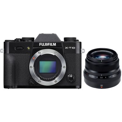 Für weitere Info hier klicken. Artikel: Fujifilm X-T10,AF 2,0/35 R WR schwarz