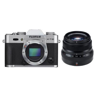 Für weitere Info hier klicken. Artikel: Fujifilm X-T10, XF 2,0/35 R WR silber-schwarz