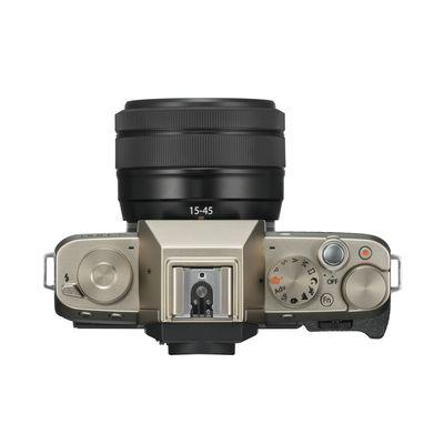 Für weitere Info hier klicken. Artikel: Fujifilm X-T100 + XC 15-45mm OIS PZ Fujifilm X gold