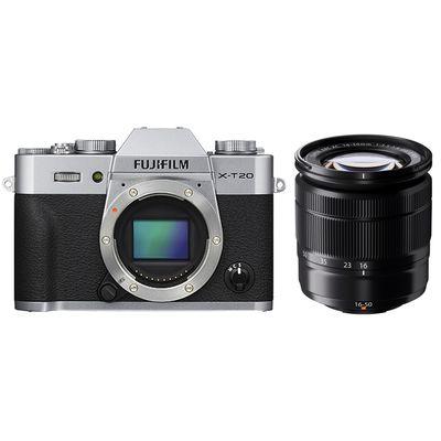 Für weitere Info hier klicken. Artikel: Fujifilm X-T20 + XC 16-50 mm II silber
