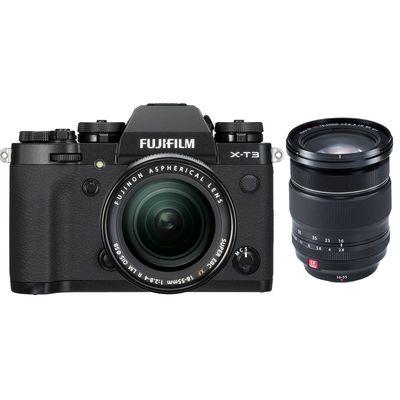 Für weitere Info hier klicken. Artikel: Fujifilm X-T3 mit XF18-55mm F2.8-4 R LM OIS + XF 2,8/16-55 R LM WR schwarz Fujifilm X