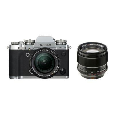 Für weitere Info hier klicken. Artikel: Fujifilm X-T3 mit XF18-55mm F2.8-4 R LM OIS + XF 1,2/56 R APD silber Fujifilm X