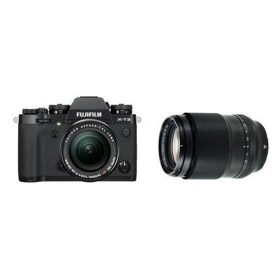 Für weitere Info hier klicken. Artikel: Fujifilm X-T3 mit XF18-55mm F2.8-4 R LM OIS + XF 2,0/90 R LM WR schwarz Fujifilm X